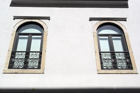 Pr�dio antigo, Lisboa, Portugal Banco de Imagens