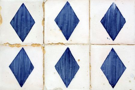 moresque: Azulejos, portuguese tiles Stock Photo