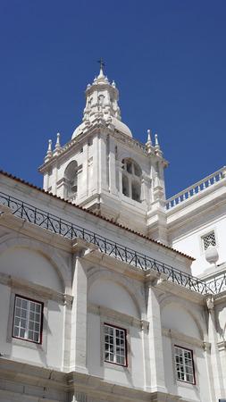 historica: Monastery of Saint Vincent, Lisbon, Portugal