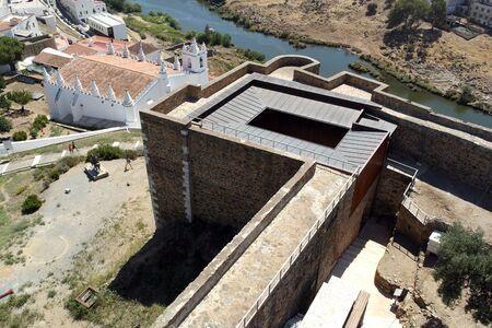 Castle, Mértola, Portugal