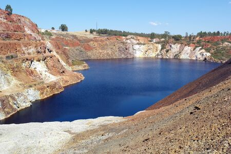outflow: Sao Domingos Mine, Alentejo, Portugal