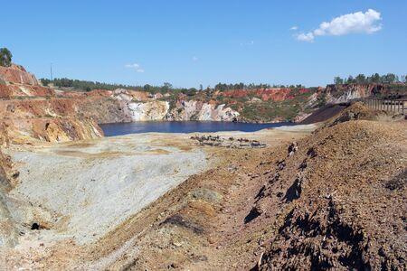sulfide: Sao Domingos Mine, Alentejo, Portugal