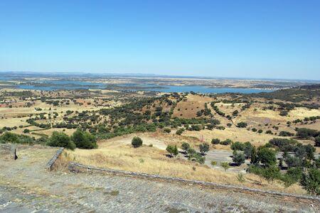 alentejo: View over the Alqueva, Alentejo, Portugal