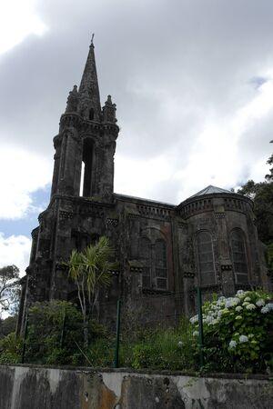 canto: Chapel near Furnas lake, Sao Miguel island, Portugal