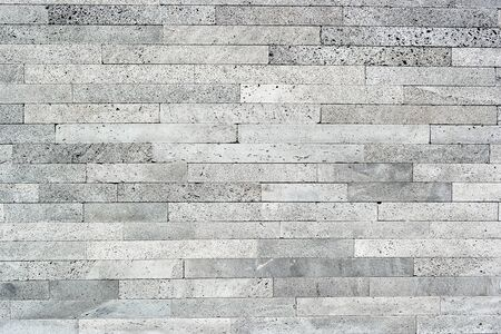 Detail of a wall made of volcanic stone