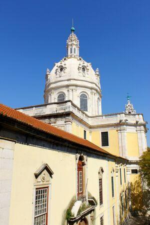 basilica: Estrela Basilica, Lisbon, Portugal