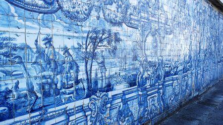 portuguese: Portuguese Tiles, Cathedral of Porto, Porto, Portugal