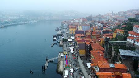 douro: Douro river, Porto, Portugal Stock Photo