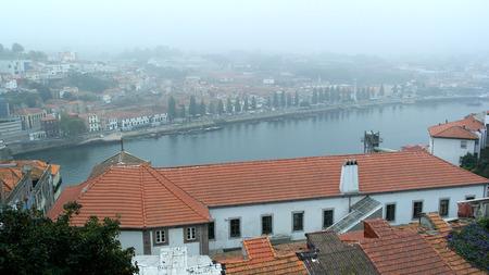 Douro river, Porto, Portugal Imagens