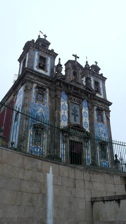 porto: Congregados church, Porto, Portugal Stock Photo