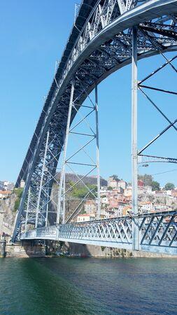 dom: Pont Dom Luiz, Porto, Portugal Banque d'images