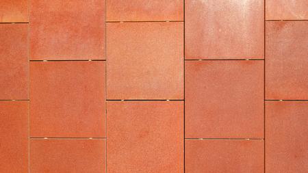 sheet steel: Corten steel wall Stock Photo
