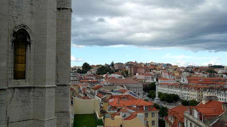carmo: Carmo Convent, Lisbon, Portugal