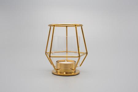 gouden kandelaar Stockfoto
