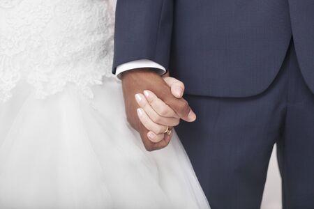 royal wedding: Interracial couple wedding