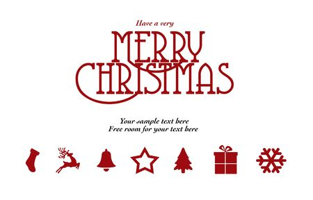happy new year text: Christmas Card