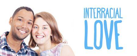 interracial couple: In Love Interracial couple quote