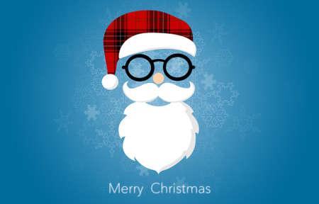 holiday greeting: Christmas Holiday Greeting Card