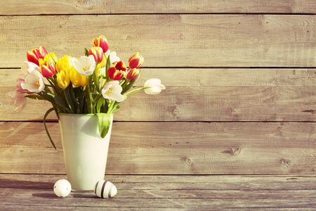 copy  space: Easter background and copy space