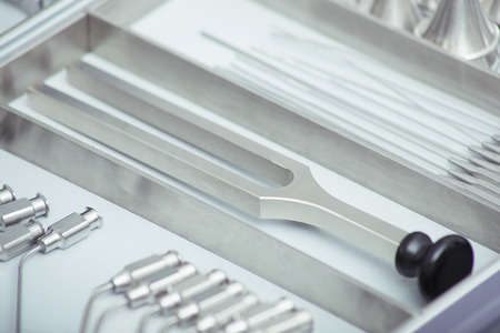 tuning fork: Tuning Fork Stock Photo