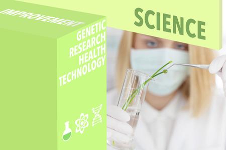 chemist: Chemist  Scientist and Scientific wordcloud