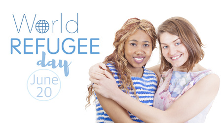 persecution: World refugee day on june 20th Stock Photo
