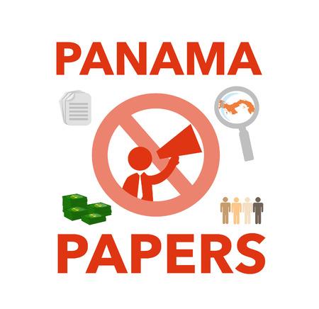 scandal: Panama Papers Scandal Stock Photo