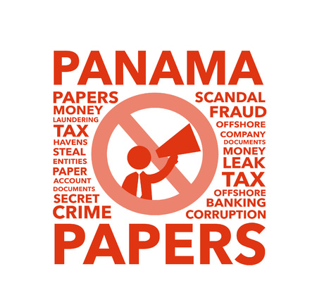 scandal: Panama Papers Scandal Stock Photo