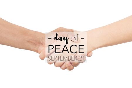 Day of peace, september 21st