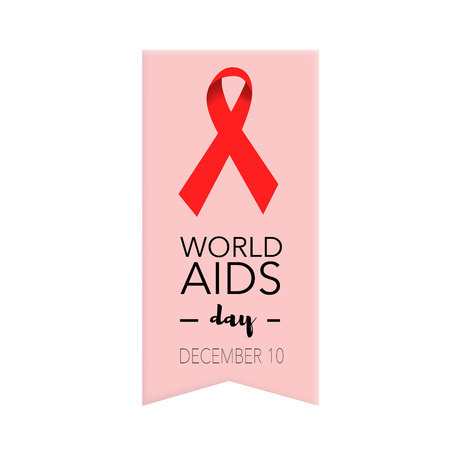 deficiency: World aids day, december 10th Stock Photo
