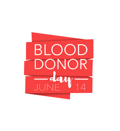 donor: Blood donor day, june 14th