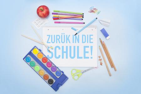 Back to school in German - Schulanfang