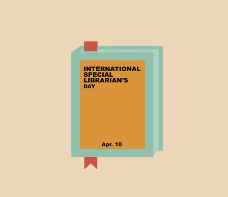 librarians: International Special Librarians Day, April 10 Stock Photo