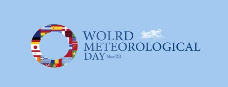meteorological: World meteorological day Stock Photo