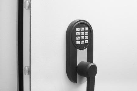 Modern safe keypad entry