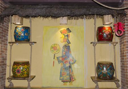 tang: Tang Dynasty costume arts and crafts