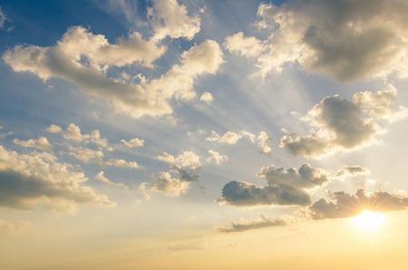 Jesus light in the sky