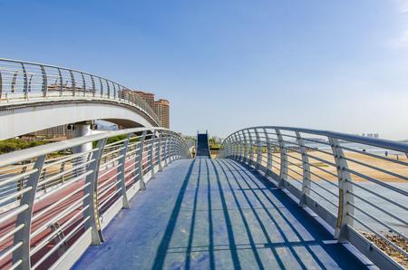 footbridge near the beach