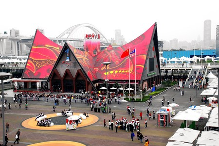 Malaysia pavilion on rhe World EXPO, Shanghai 2010 Editorial