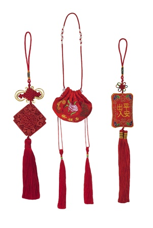 Traditional chinese colourfull fragrant bags with tassels
