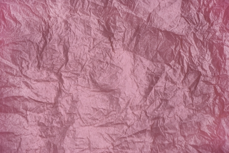Background of decorative wrinkled  pink faded paper Stock Photo