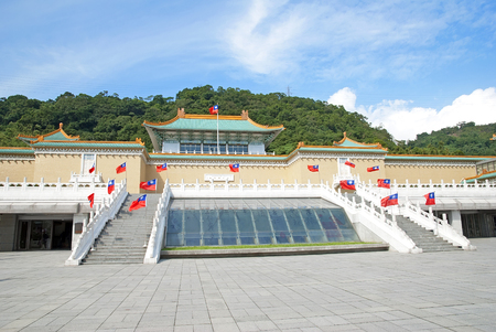National Palace Museum in Taipei, Taiwan, October 27th, 2013