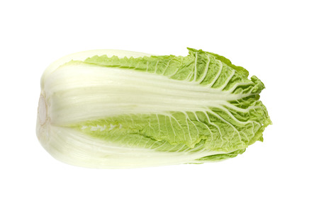 Beijing cabbage isolated on a white background