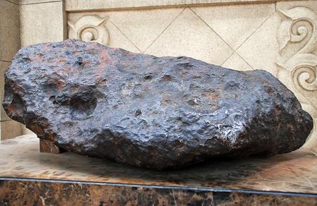 An iron meteorite from Beijing planetarium collection