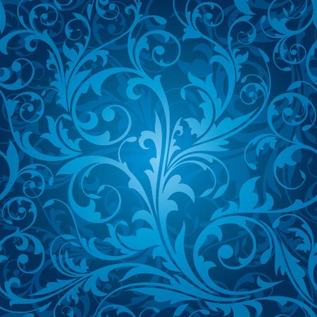 seamless floral pattern vector illustration Stock Vector - 8970622