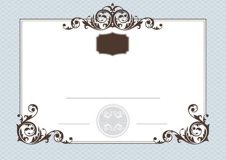 certificado: certificado de cumplimiento de ilustraci�n vectorial