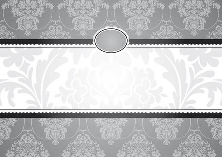 invitaci�n marco abstracto ilustraci�n vectorial