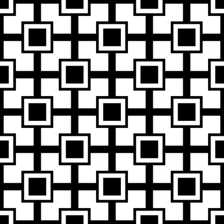 repeat square: abstract seamless ornament pattern