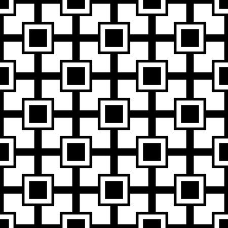 square detail: resumen patr�n sin fisuras ornamento Vectores