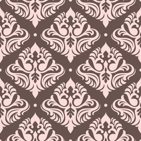 floral seamless wallpaper vector illustration Stock Vector - 15388344